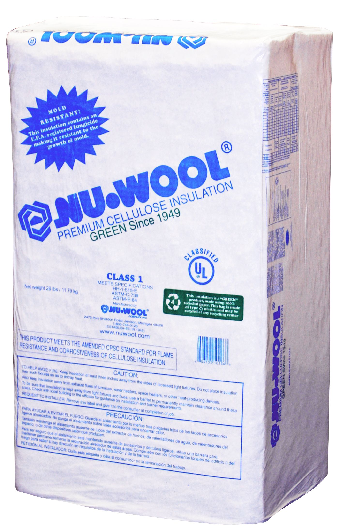 Eco friendly home insulation products - Established In Nu Wool Is A Leading Manufacturer Of Eco Friendly Cellulose Insulation Superior In Its Performance Green In Its Manufacturing
