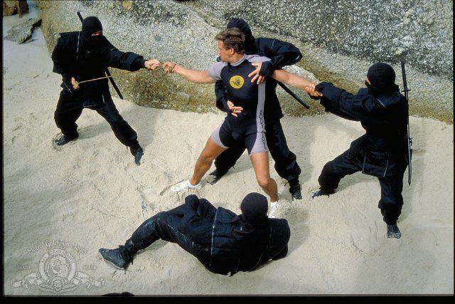 Still Of Michael Dudikoff In American Ninja 2 The Confrontation