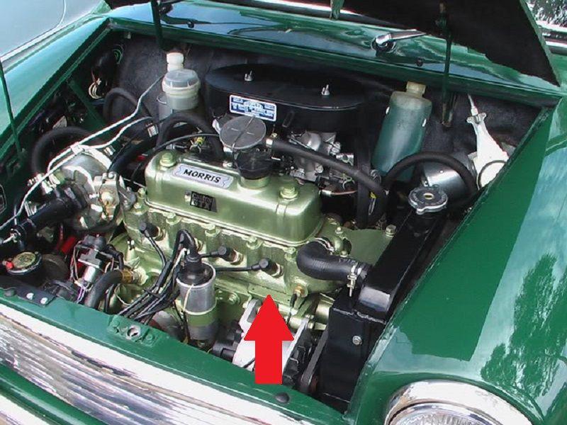 Australian Mk2 Morris Cooper S Engine Bay Mini Austin Interior