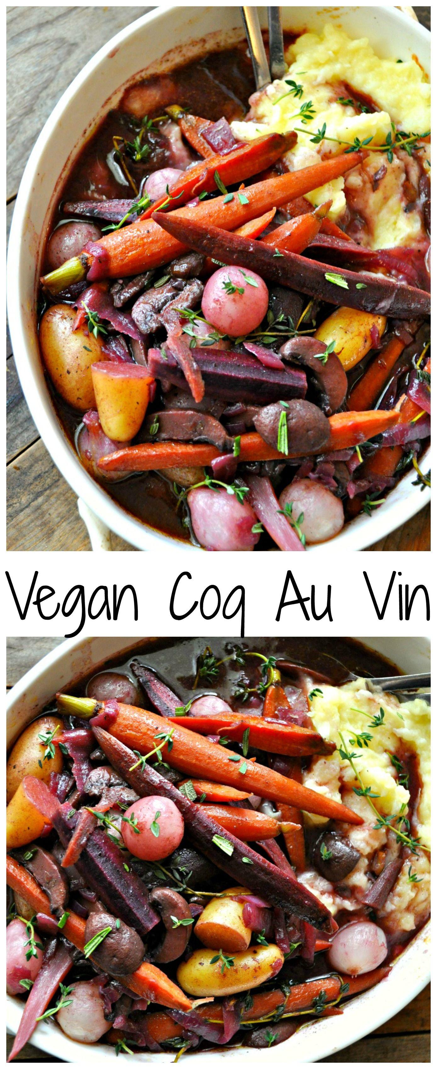 Vegan Coq Au Vin Recipe Healthy recipes, Vegan main