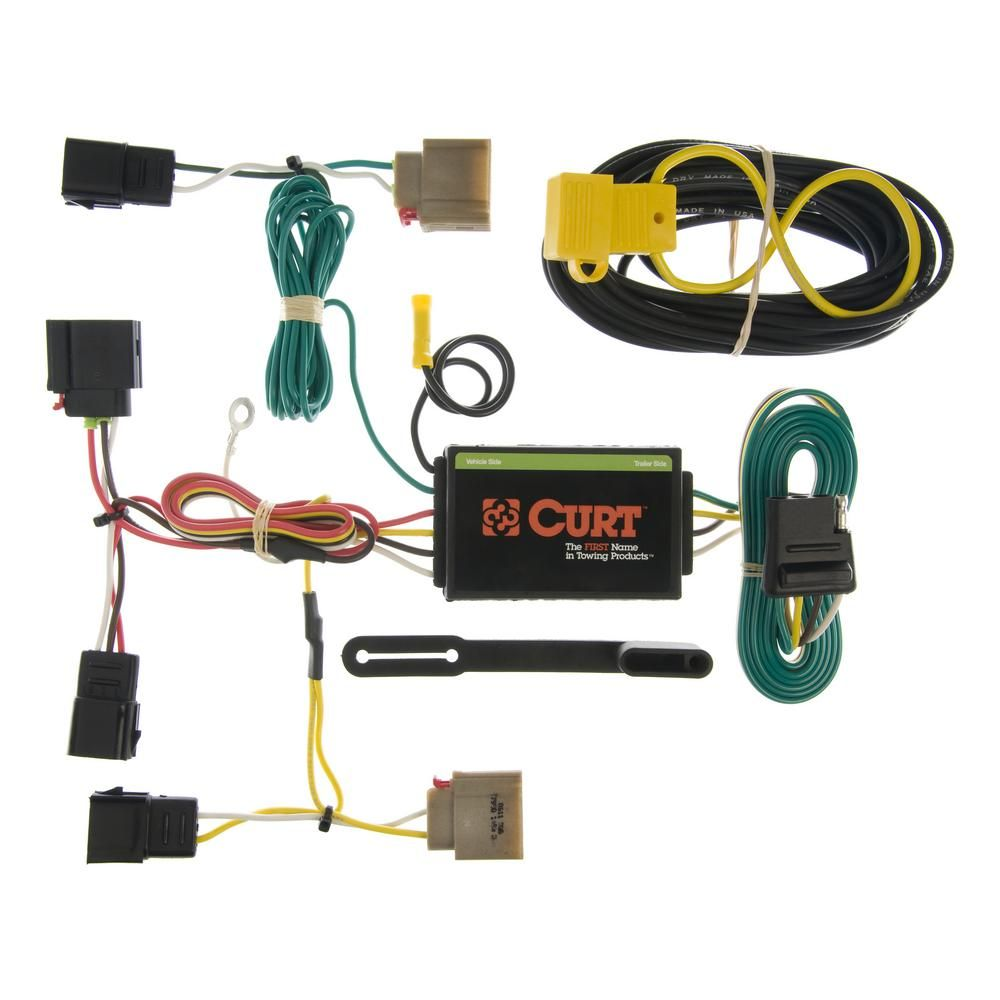 Diagram  Curt Trailer Hitch Wiring Harness Oem To 4 7 Way