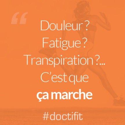 Citation Sport Motivation Douleur Fatigue