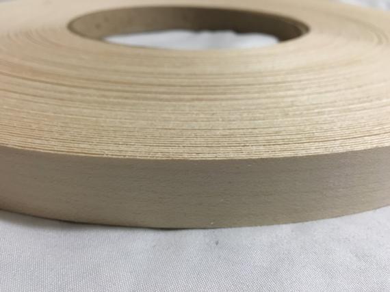 """Red oak pre glued 3//4/""""x250/' wood veneer edgebanding"""