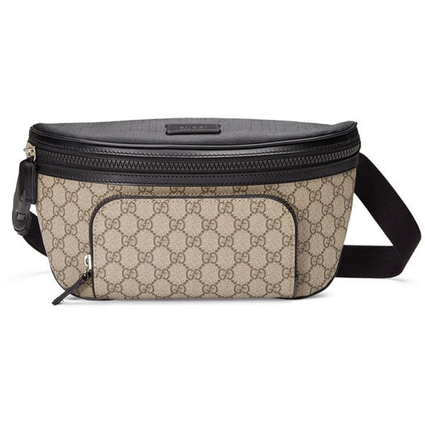c7b33989cfe Gucci Eden GG Supreme Belt Bag ( 750) ❤ liked on Polyvore featuring bags