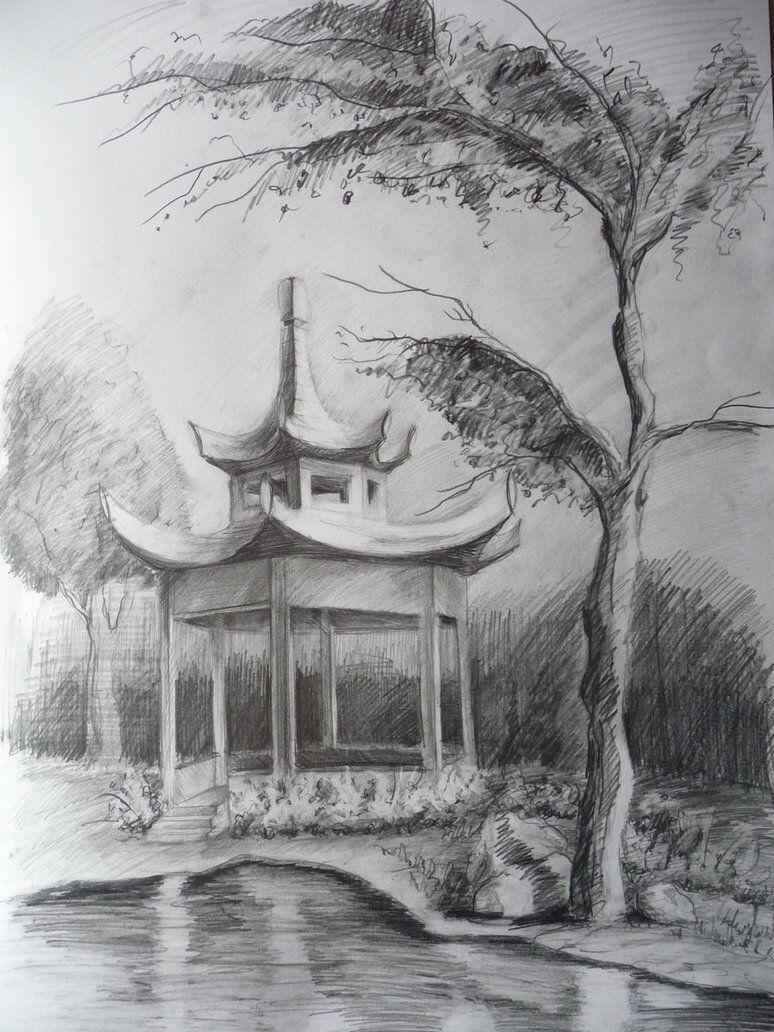 Pagoda By BaStkk On DeviantArt