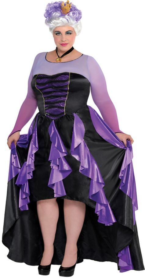 d4792d479 Adult Ursula Costume Couture Plus Size - The Little Mermaid - Party City