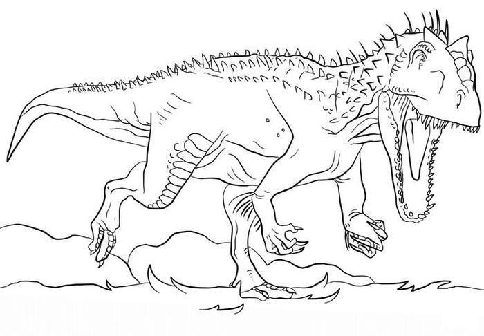 Jurassic World Coloring Pages Indoraptor Dinosaur Coloring Pages Dinosaur Coloring Dinosaur Pictures