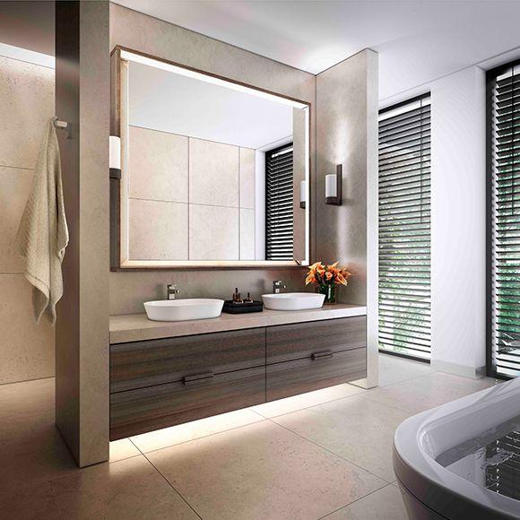 Bathroom Lighting Fixtures Melbourne love the under cabinet lighting. marne-st-1 (580×580) | for