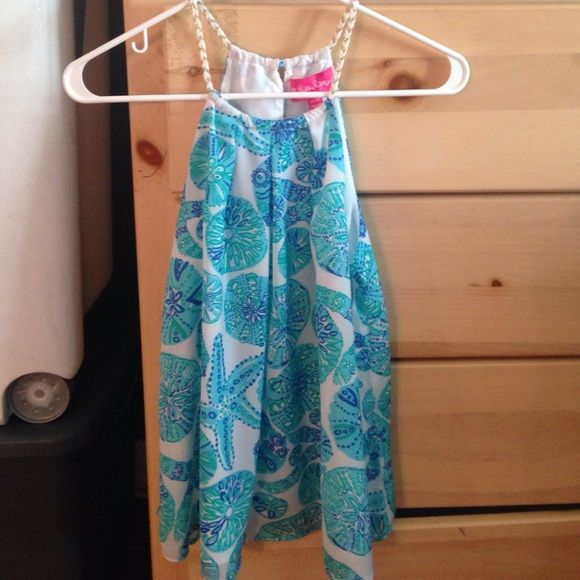 Lilly for Target Top Lilly for  target halter top. NWOT never worn! XS but can fit a small because its a flowy too Lilly Pulitzer Tops Blouses