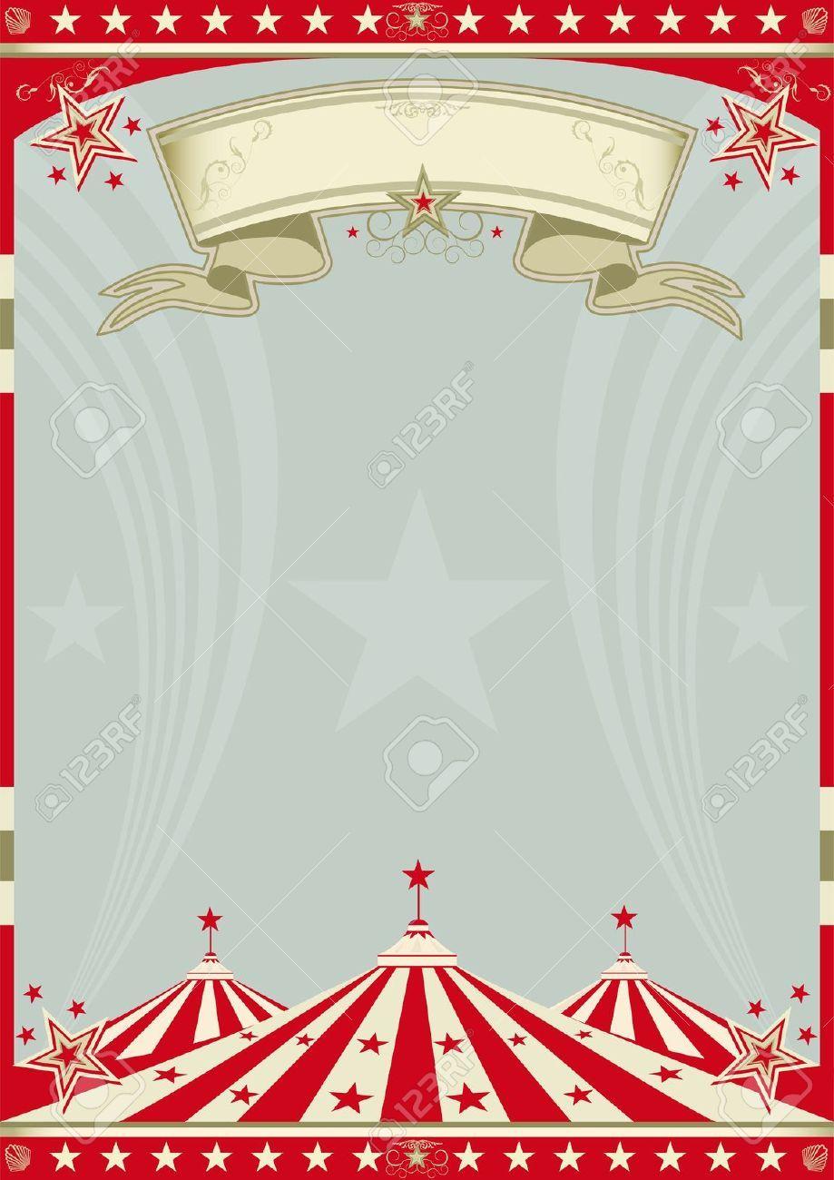 A Retro Circus Background For A Poster Circus Background Vintage Circus Posters Book Clip Art
