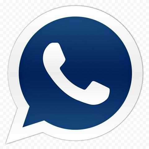 Hd Dark Blue Official Whatsapp Wa Watsup Logo Icon Png In 2021 Logo Icons Blue Icon
