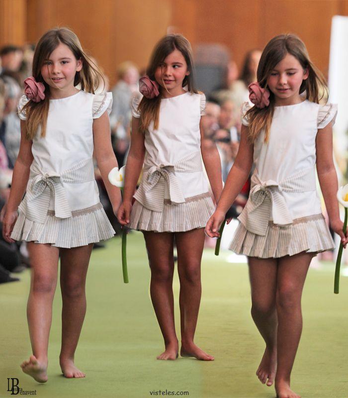 Eva jerez moda infantil desfile colecci n primavera verano 2013 roupinhas de crian a - Monalisa moda infantil ...