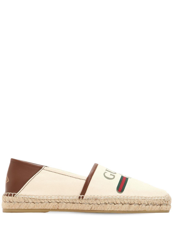 d6272acfec29 GUCCI GG FAKE ALEJANDRO CANVAS ESPADRILLES. #gucci #shoes | Gucci ...