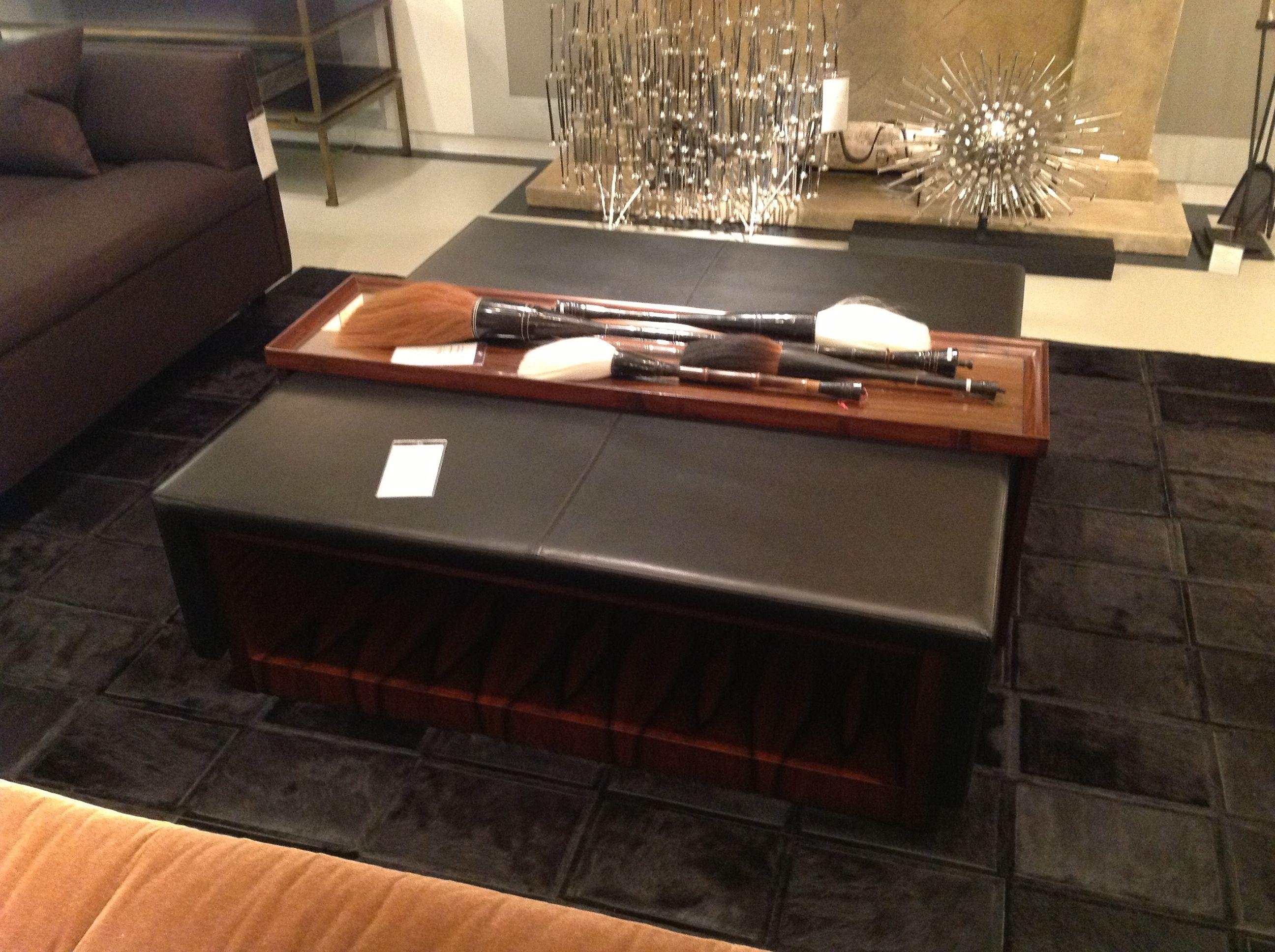 David Sutherland Ottoman Coffee Table