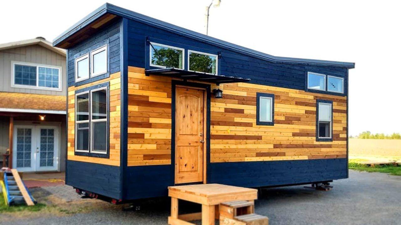 Most Unique Exterior Design The Outlander Tiny House Start At 25k Tiny House Exterior Tiny House Camper Tiny House