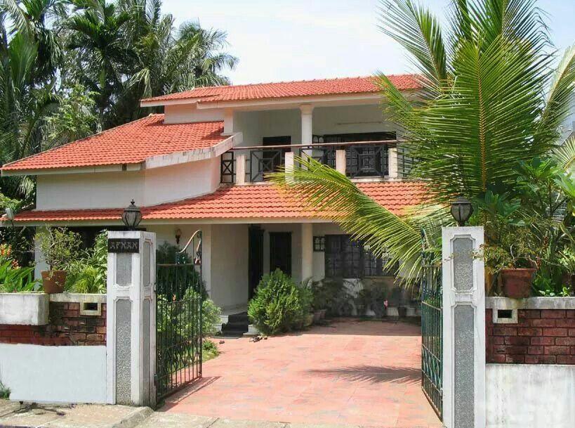 Kerala house Village house design, Kerala houses, Kerala