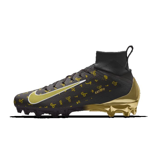 gas Normalmente Claraboya  Calzado de fútbol para hombre personalizado Nike Vapor KAY 270 BLACK GOLD |  Nike, Hombres nike, Calzas