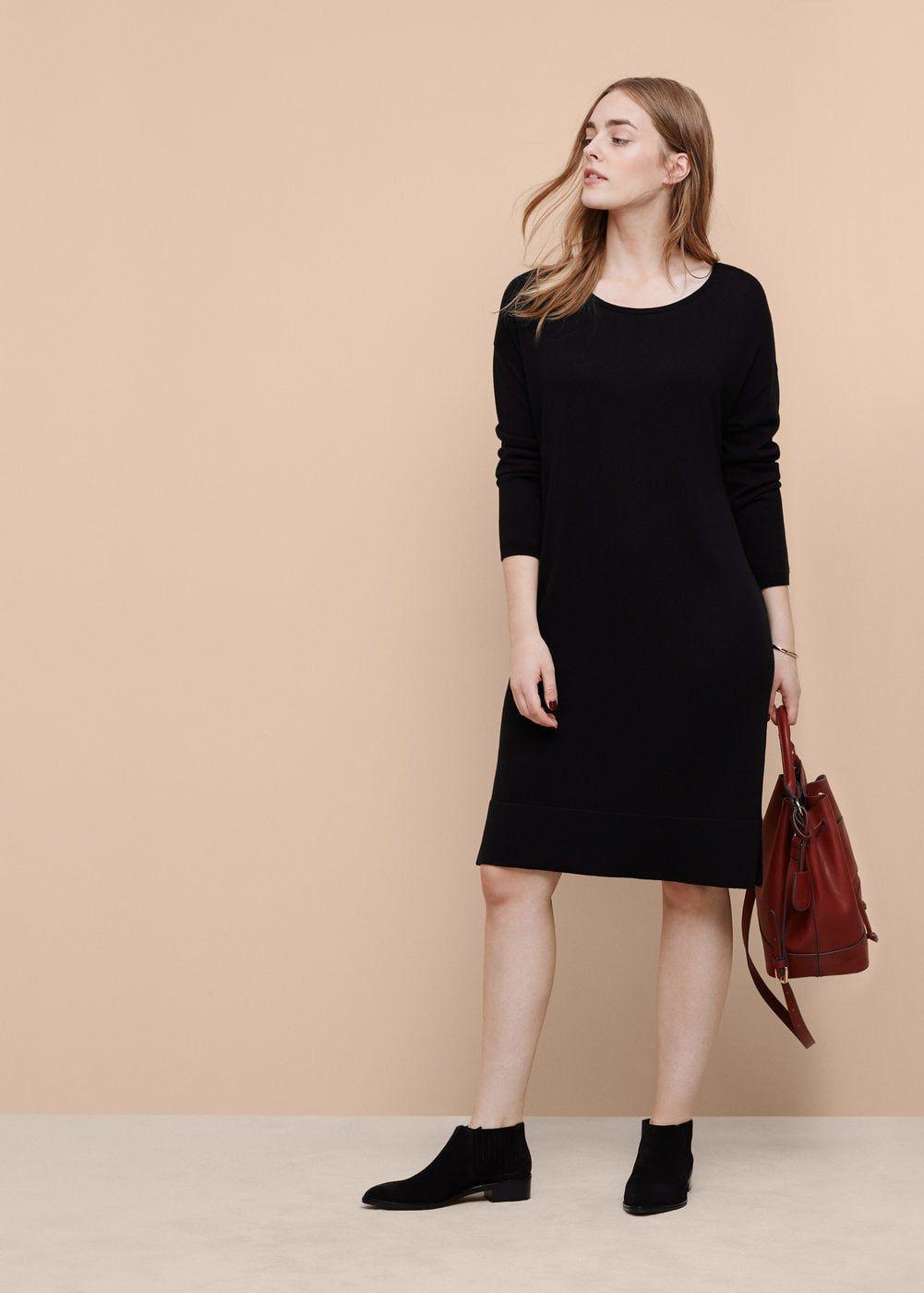 6688d73027df Robe maille en laine - Grandes tailles