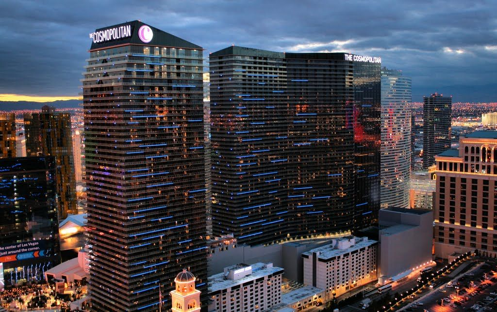 The Cosmopolitan of Las Vegas commonly referred