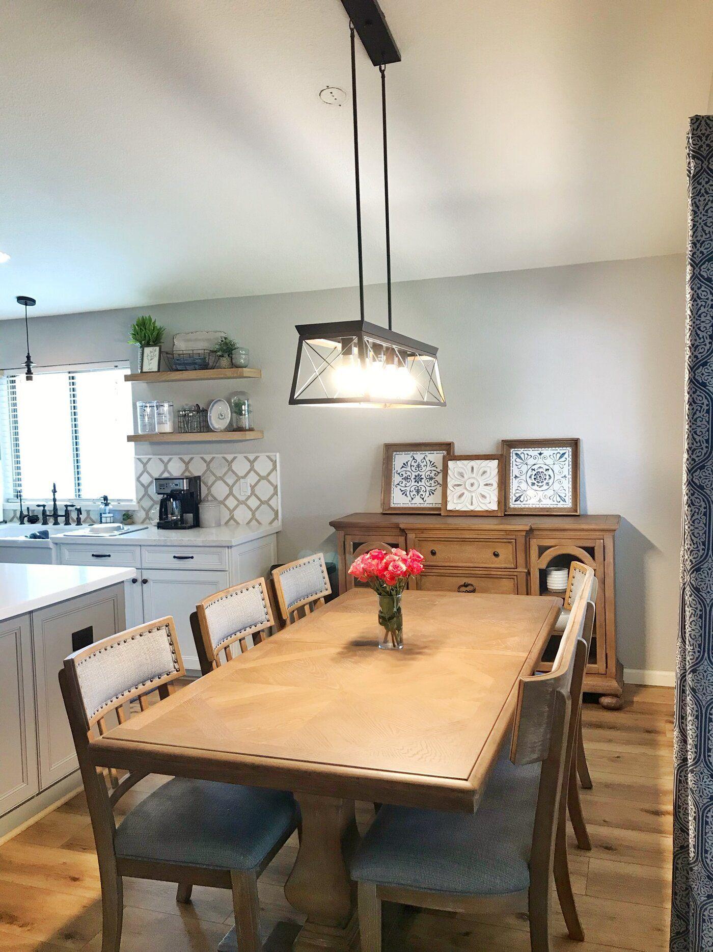Laurel foundry modern farmhouse delon 5light kitchen