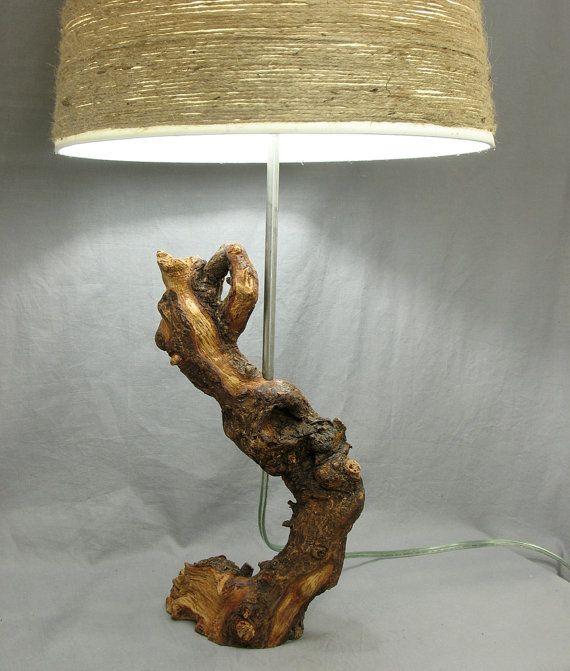 Beautiful Twisted Tree Root Table Lamp Tree Branch Rustic Modern Light Root Table Lamp Twisted Tree