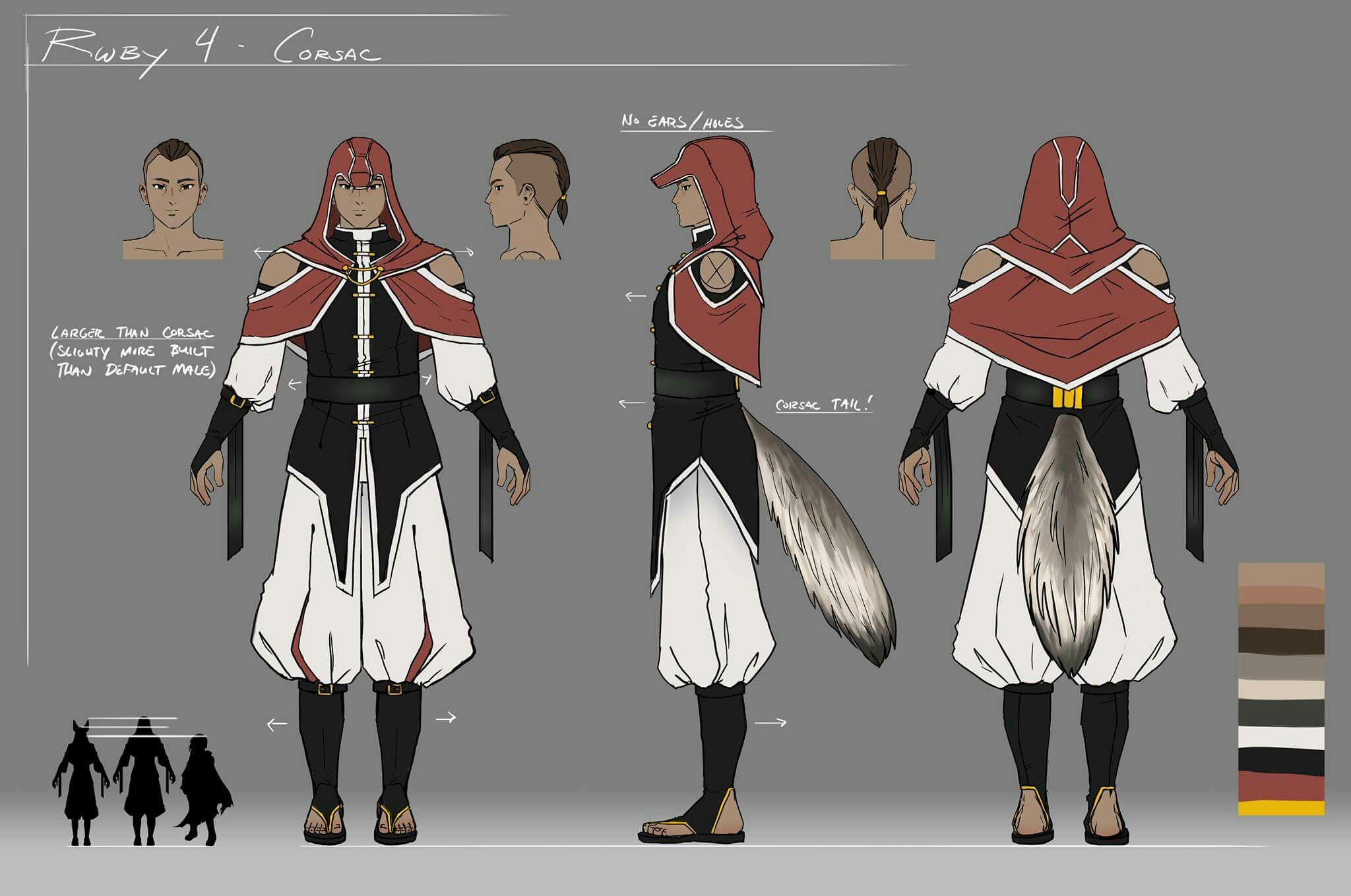 White Fang | RWBY | Rwby, Character design, Character turnaround