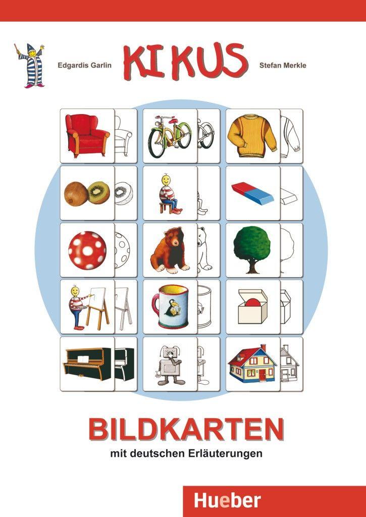 Hueber KIKUS Deutsch.480 Bildkarten (240 Motive, farbig + sw ...