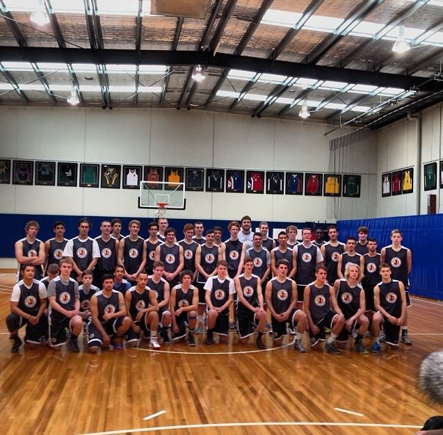 #Photography, online live-streaming and individual #player video #highlights packages, just part of the service from @hookmedia at #AndrewBogut #Basketball Academy #College Showcase.