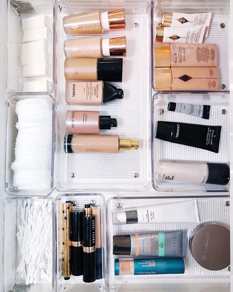 Here's How to Organize Your Makeup For the Perfect Instagram Shelfie images