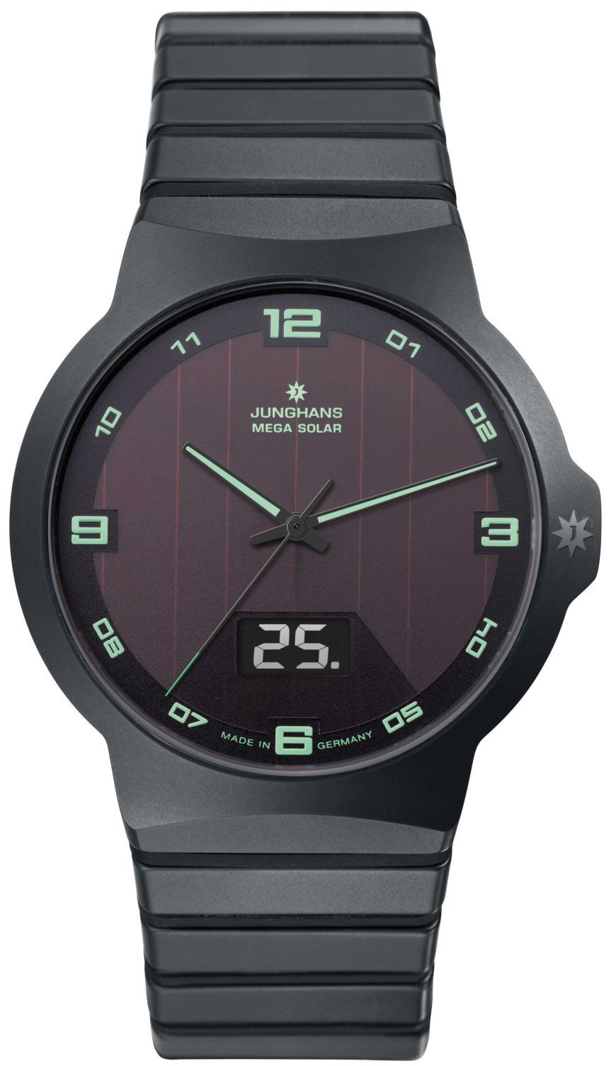 Junghans Force Mega Solar Watch With Wireless Charge And