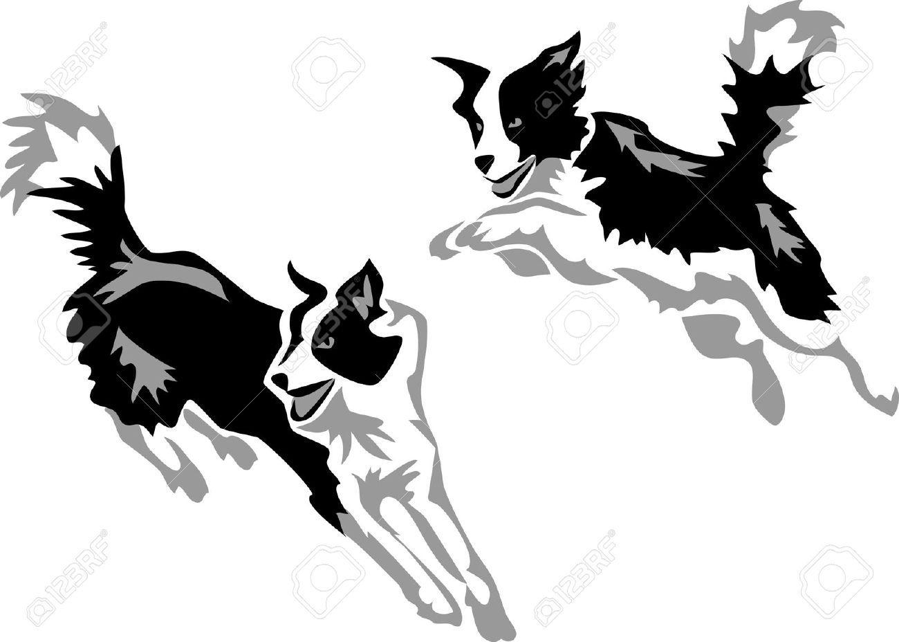 ボーダーコリー イラスト - Google 検索 | デザイン | Pinterest | Collie, Dog and Collie dog