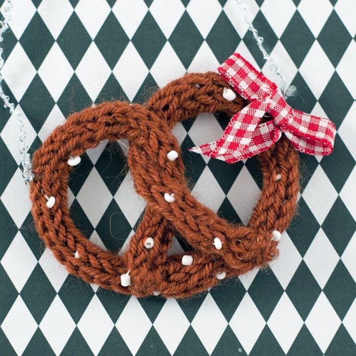 Aufgebrezelt Fürs Oktoberfest Feste Anleitung Pinterest