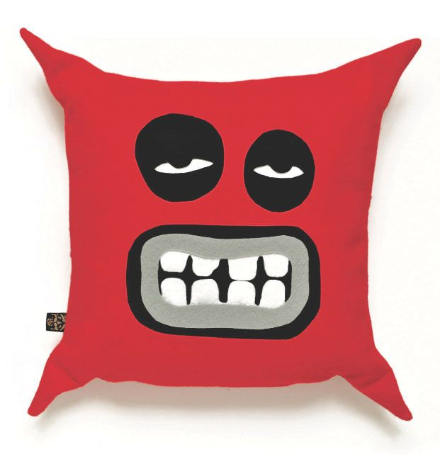 Gumbo King 'Cushionface' Red Felt Cushion