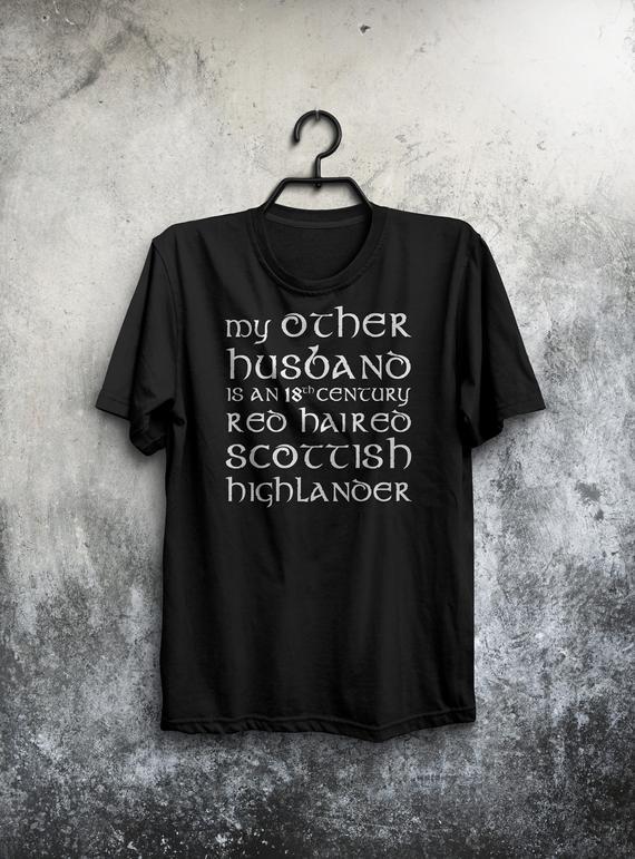 Jamie Claire Shirt Outlander Shirt for Women Size M Unisex Sizing Sassenach Shirt