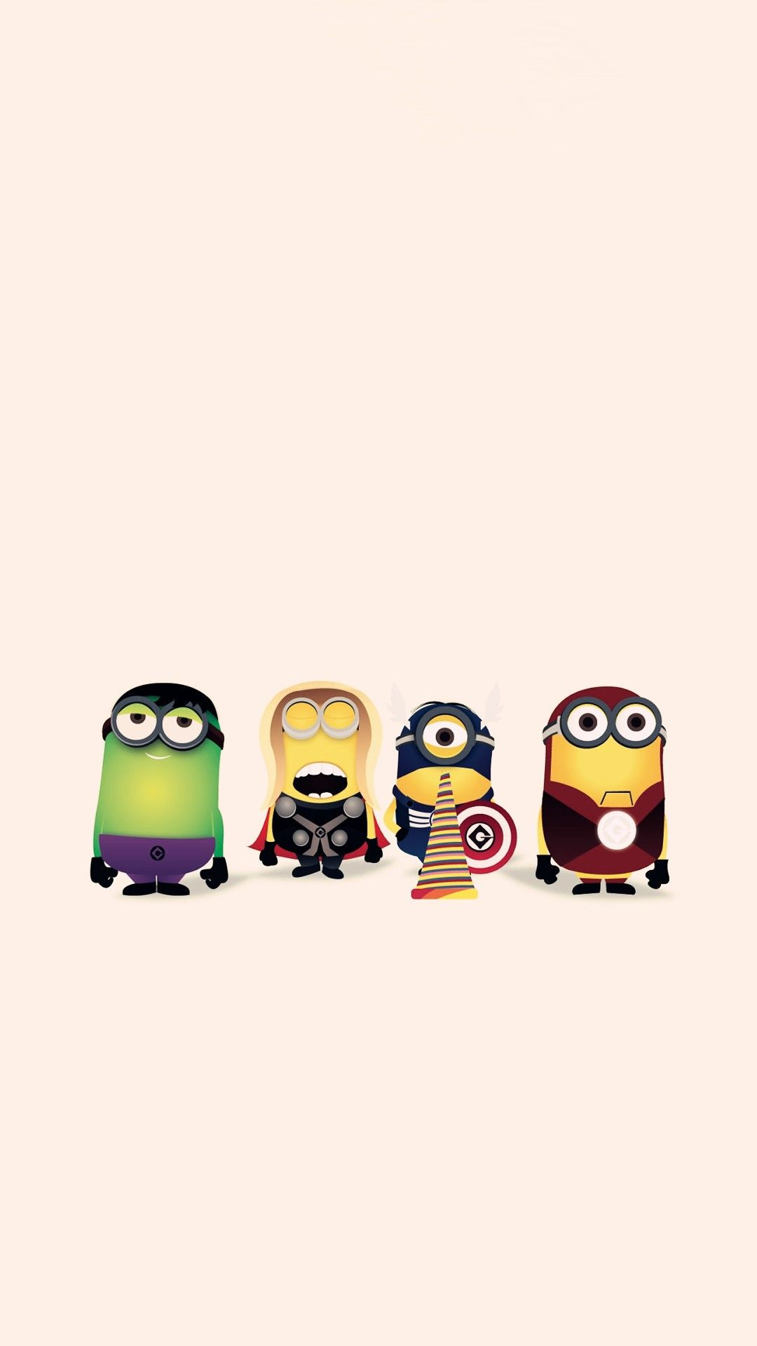 hd cartoon avengers minion apple iphone 6 plus wallpaper