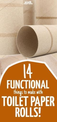 14 Fun & Functional Toilet Paper Roll Crafts -   24 recycled crafts toilet ideas