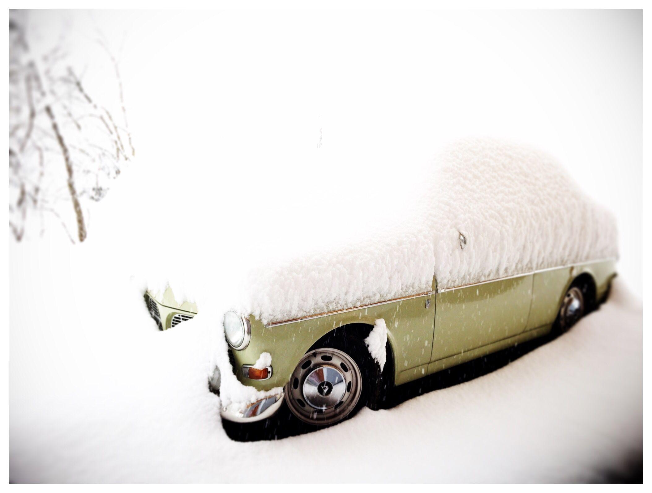 Enfin il neige sur ma volvo volvo amazon volvo car