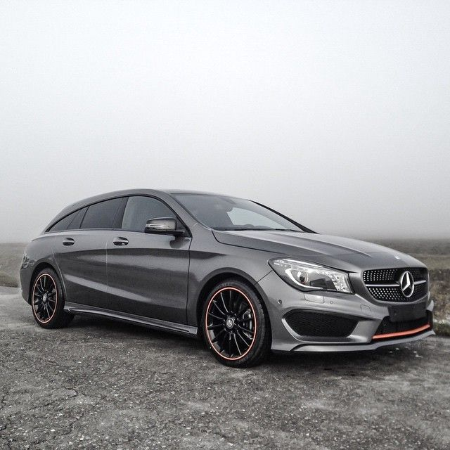 Mercedes Benz Cla 45 Amg Sb Orange Art Instagram