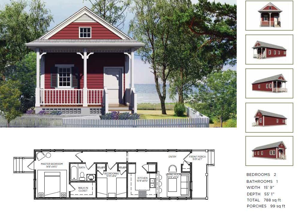 The griffin 2 bedroom 1 bath shotgun little and lovin for 2 bedroom shotgun house plans