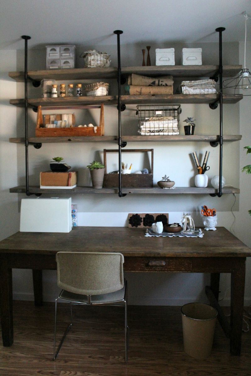 At Home With Sylvie Liv | Home decor, Home, Wood shelves