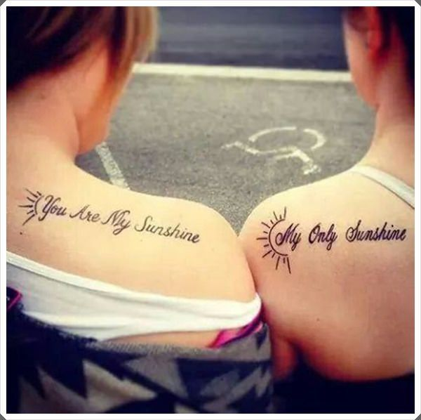 37 Mom Tattoos That Will Fill Your Heart: Mother Daughter Tattoos