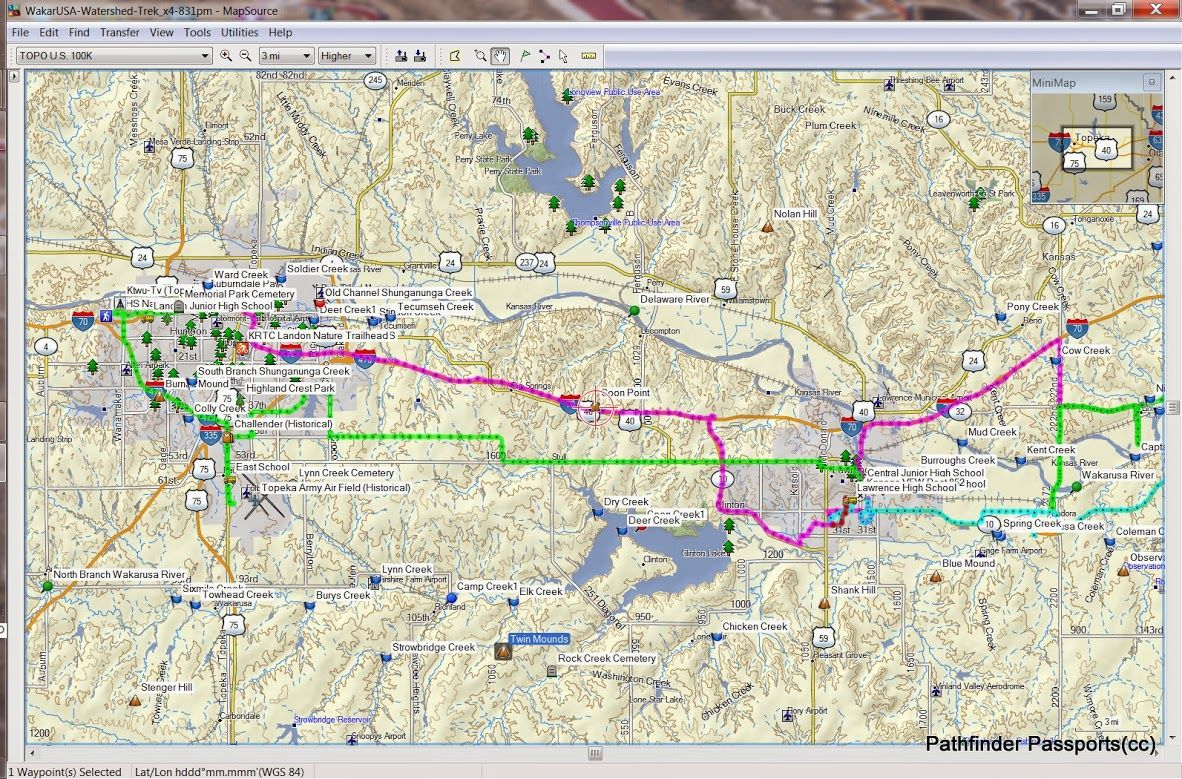 Us Lat Long Map%0A GarminMapSource U  WakarUSA EcoChallenge  Find coordinates of John C