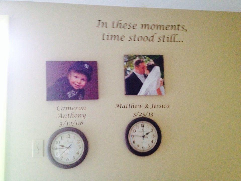 Time stood still memories