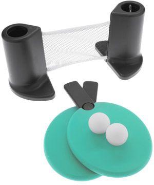 Pongo Portable Table Tennis Set | Portable table, Tennis and Ping ...