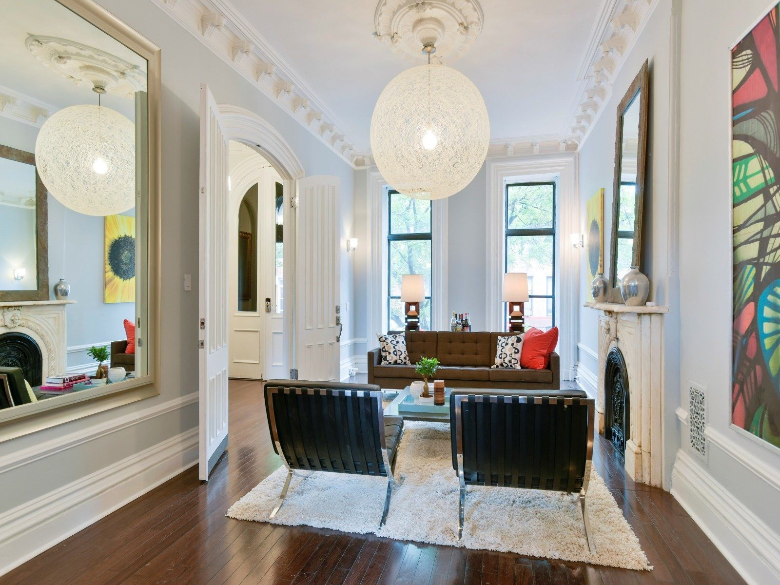 A Classic Brooklyn Brownstone For Sale In Bed Stuy
