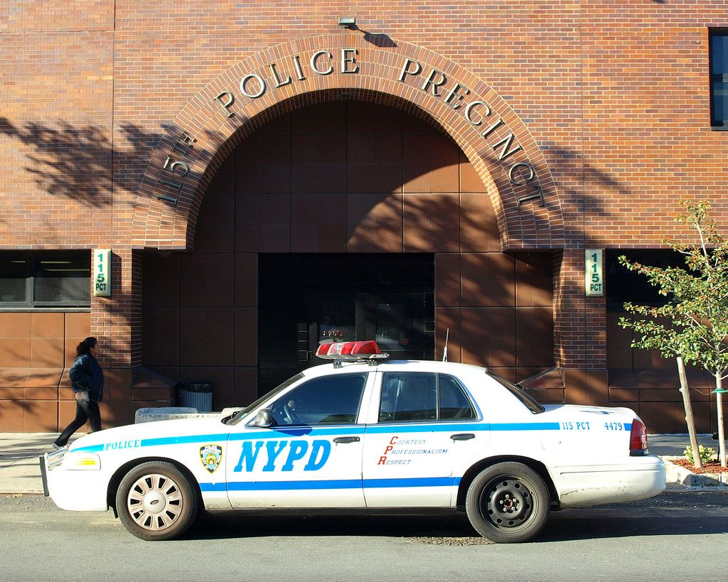 P115 Nypd Police Station Precinct 115 Jackson Heights Queens New York City Police Cars Police Station Police