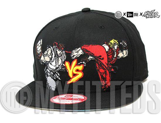 c0f69b33359 Ryu Vs Ken 9Fifty Snapback Cap by CAPCOM x NEW ERA