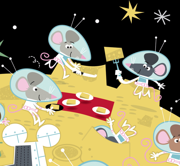Usborne lots of mice to spot ... space