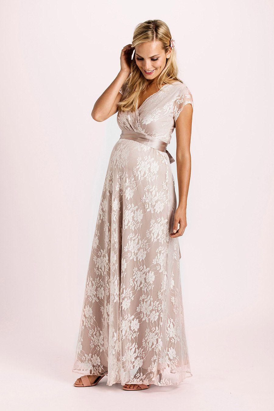 Eden Kleid lang rose | Farbe rose, Schärpe und Empire