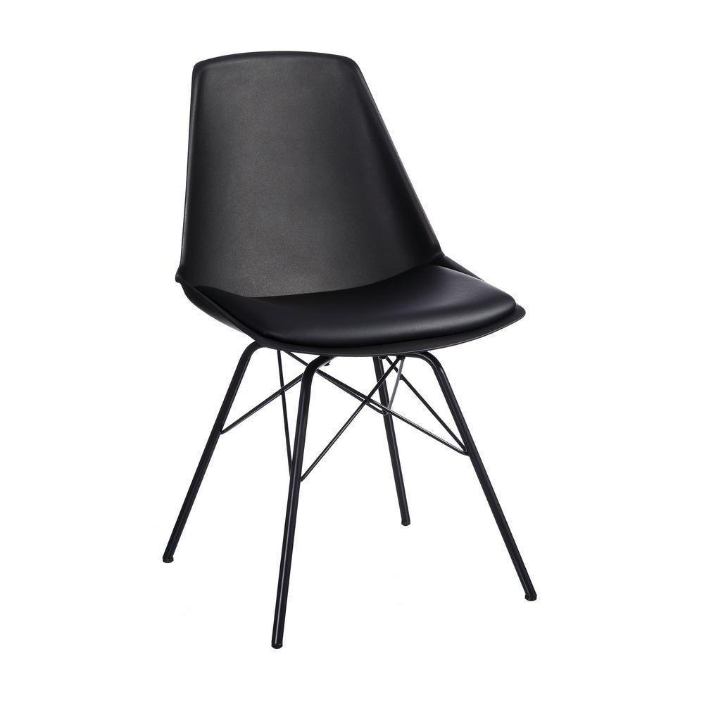 Lot De 2 Chaises Moderne Noir Meubles Chaise Moderne Chaise Salle A Manger Et Mobilier De Salon
